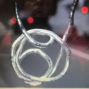 💕 Amazing Silver Twist bendable Neckless 💕